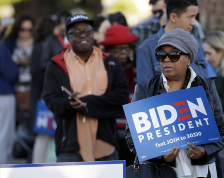 Black voters power Biden's Super Tuesday success