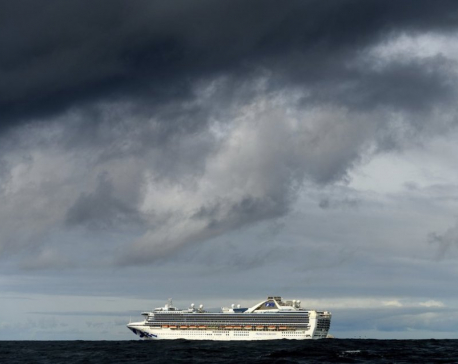 Officials set to receive thousands from ship hit by virus