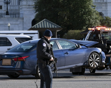 Man rams car into 2 Capitol police; 1 officer, driver killed