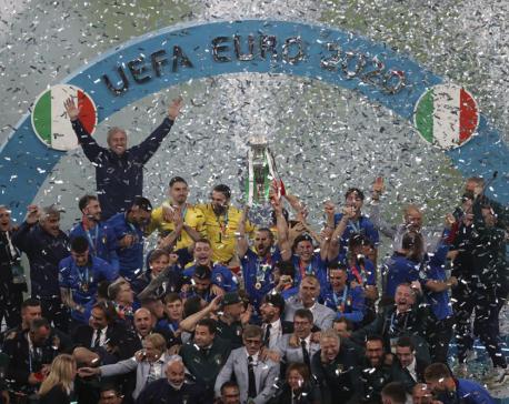 Italy wins Euro 2020, beats England in penalty shootout