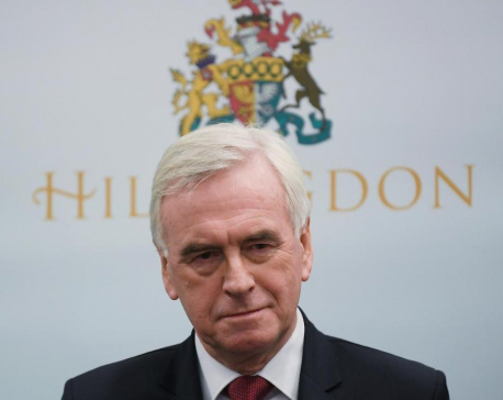 """I take the blame, says UK Labour's McDonnell of election """"disaster"""""""