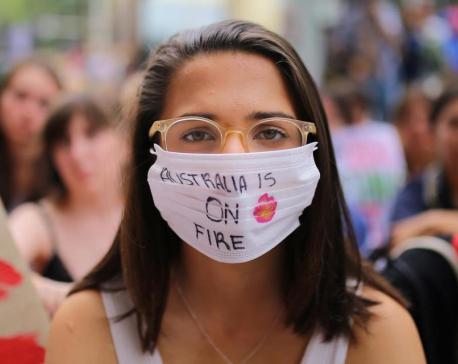 Students stage global climate protests to pressure U.N. summit