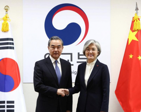 Top diplomat in China's government visits South Korea after four-year gap to mend ties