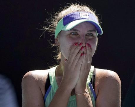 Kenin of US ousts No. 1 Barty to reach Australian Open final