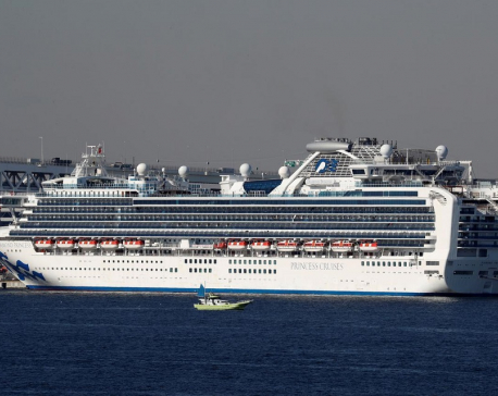 Sixty more people confirmed with coronavirus on cruise ship in Japan - media