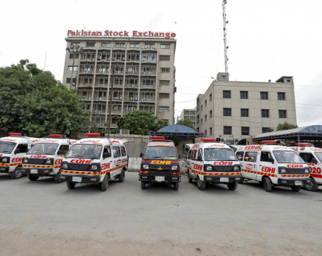 Gunmen attack Karachi stock exchange, killing at least 3