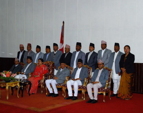 15 new ministers take oath from President today