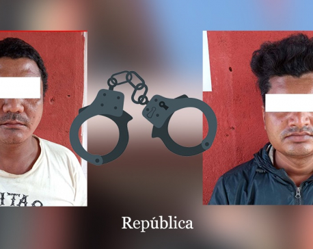 Police arrest two fraudsters for swindling out of nearly three million rupees from job aspirants