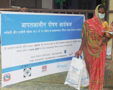 UK Provides Rs 678 million to WFP to help Nepali families cope with covid-19 and food insecurity