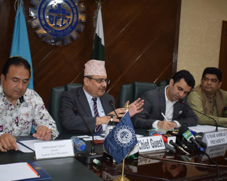 Nepali envoy in Pakistan holds interaction with office bearers of Gujranwala Chamber of Commerce and Industry