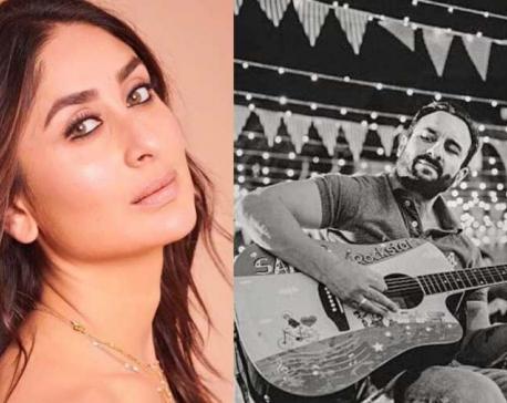 Kareena Kapoor Khan documents Saif's love for music in Instagram post