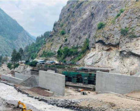 Humla deprived of electricity following damages to hydel project