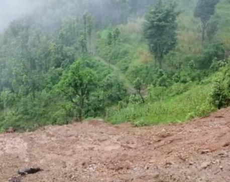 34 houses at risk of landslides in Melamchi