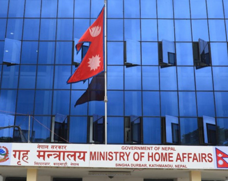 Home ministry urges people not to throng religious sites during festivals