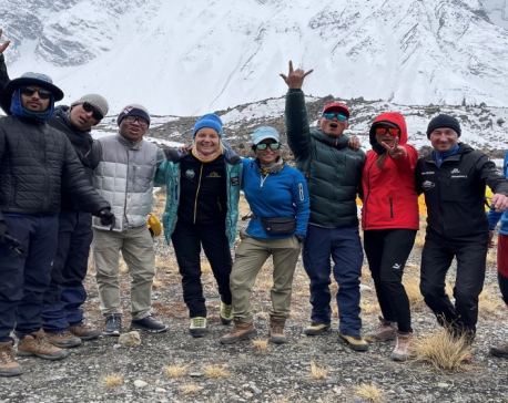 Photojournalist Poornima Shrestha among four Nepali women to conquer Mt Annapurna I