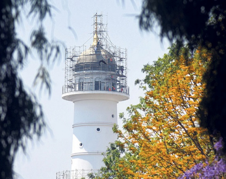 Govt in a rush to inaugurate Dharahara