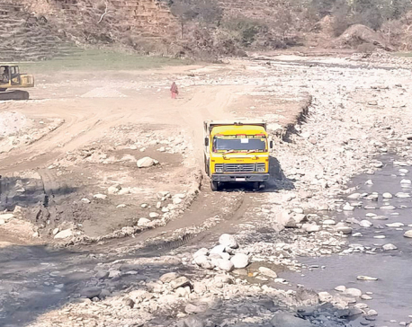 Police impound tractors and excavator transporting sand illegally