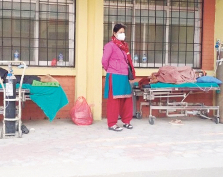 As private hospitals turn away COVID patients, government hospitals treat them in chairs and corridors
