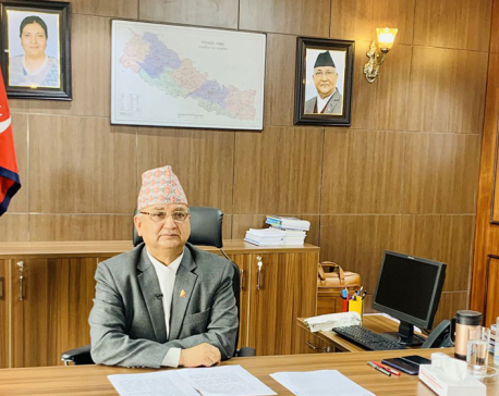 Upcoming general convention will retain Oli as party chairman: Pokhrel