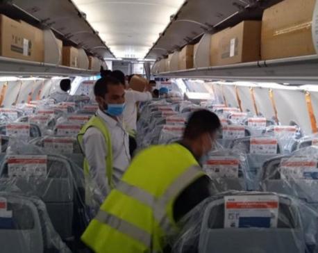 32,000 vials of Remdesivir arrive in Nepal