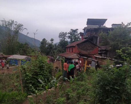 UPDATE: Seven houses collapsed, three injured in Lamjung earthquake
