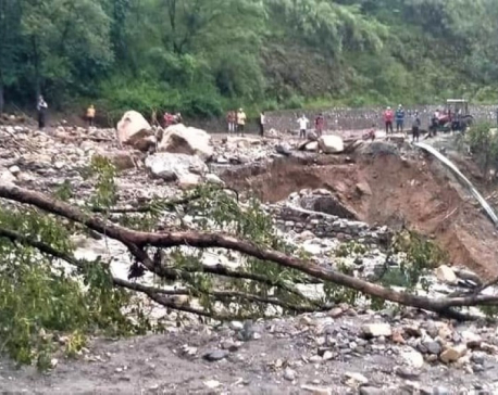Vehicle swept away by flood found in Modi River, driver and passenger still missing
