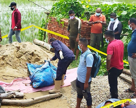 Woman missing for 38 days found buried inside toilet tank