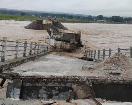 Siwai bridge further damaged by floods