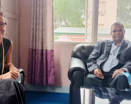 Swiss envoy calls on JSP Chairman Yadav