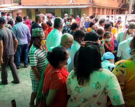 Risk of third wave rises as locals disregard safety guidelines in Sunsari