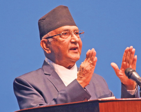 Oli threatens not to let parliament meeting chaired by Speaker Sapkota function smoothly