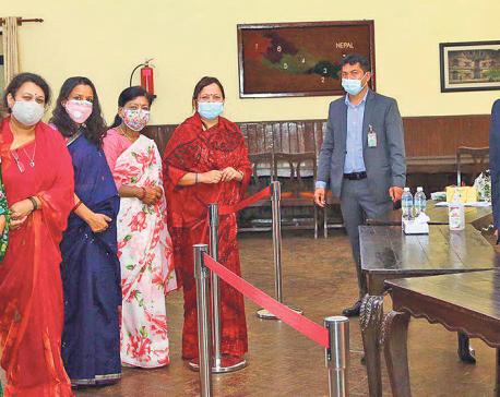 Women entrepreneurs hold meeting with Prime Minister Deuba