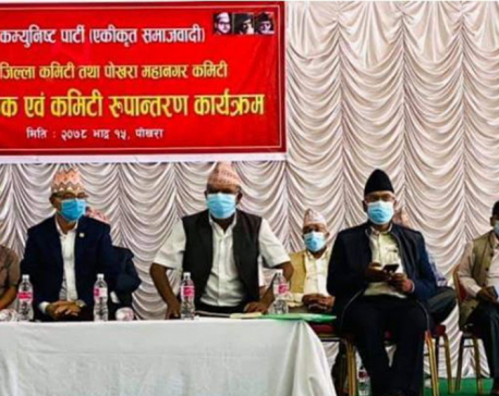 Kaski CPN-UML parallel committee to merge into CPN (Unified Socialist)