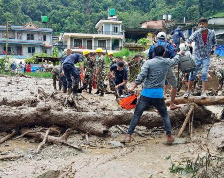 Five dead, one missing in Pokhara landslide