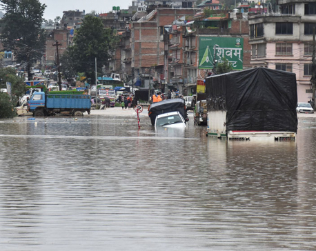 Valley sees heavy inundation as the land could not absorb water