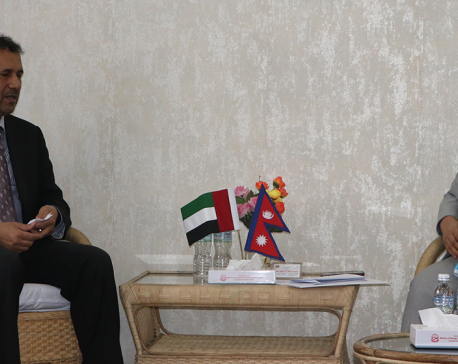 UAE envoy calls on Energy Minister Bhusal