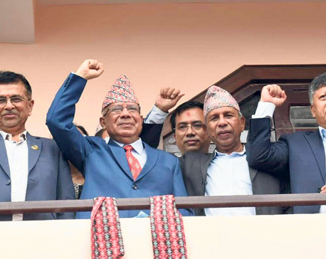 Tactics being used to break ruling coalition will not be successful: Madhav Nepal