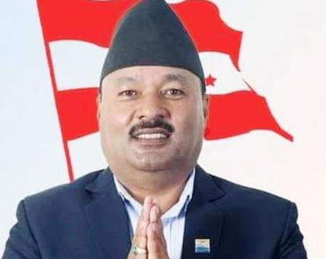 Surendraman Bijukchhey elected as NC president of Pokhara Metropolis