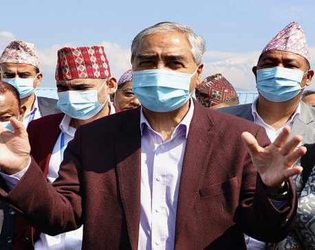Budget for proper management of  Pokhara Airport will be guaranteed: PM Deuba