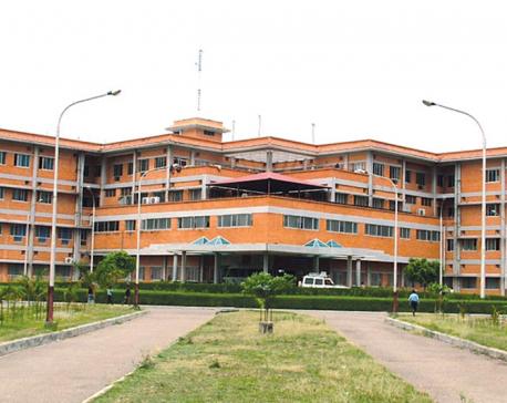 Relatives refused to take the body alleging negligence of doctors at Kohalpur Teaching Hospital