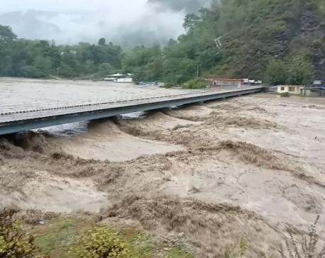 People worried as flow of water in Seti River rises