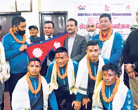 Boxing team for AIBA Men's World Boxing Championship bid farewell
