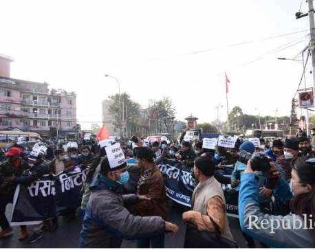Protests erupt across the country against parliament dissolution