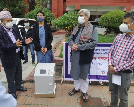 Karuna Foundation donates 110 oxygen concentrators to hospitals treating COVID patients
