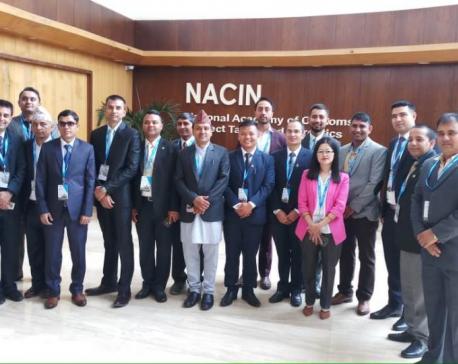 18 Nepali civil servants attend training on anti-money laundering in India