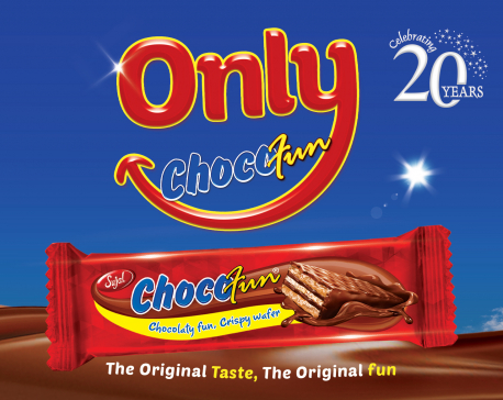 """Chocofun launches """"Only Chocofun"""" campaign for its 20th anniversary"""