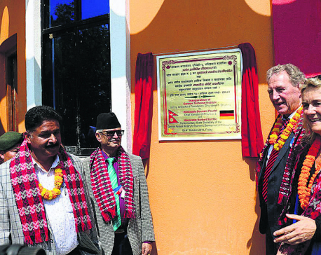 German technical and vocational school established in Dhading
