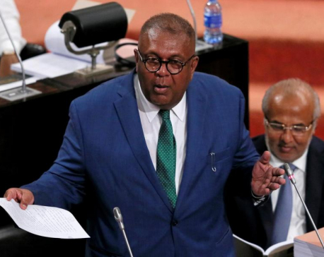 Sri Lanka finance minister quits after ruling party candidate defeated in presidential poll