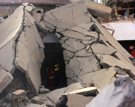 China restaurant collapses during birthday party, killing 29