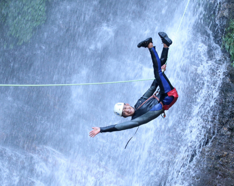 'Canyoning is fun' (PHOTO FEATURE)